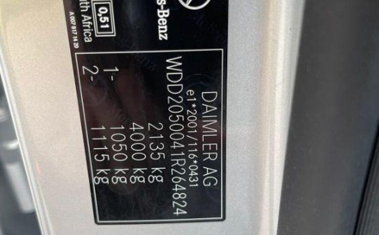 MERCEDES-BENZ C220-134000KM-2017-GARANTIE 12LUNI/20000KM -POSIBILITATE LEASING DOB. ANUALA 3.99% full